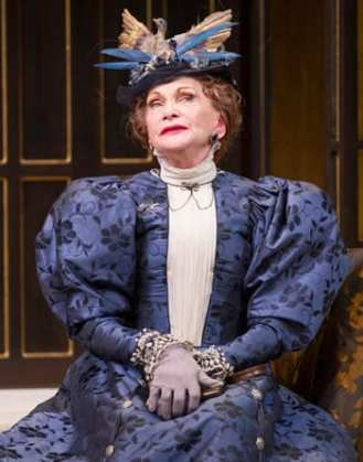 Siân Phillips as Lady Bracknell (Photo: Scott Suchman)