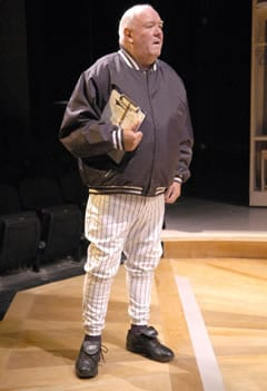Tom Quinn in Studio Theatre's production of Take Me Out (Photo courtesy of Studio Theatre)