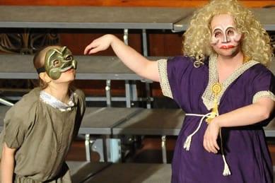 Connor Hogan and Lily Kerrigan (Photo courtesy of Ambassador Theater)