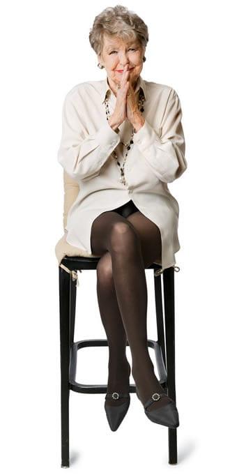 Elaine Stritch (photo for The New York Times Magazine by David Lewinski)