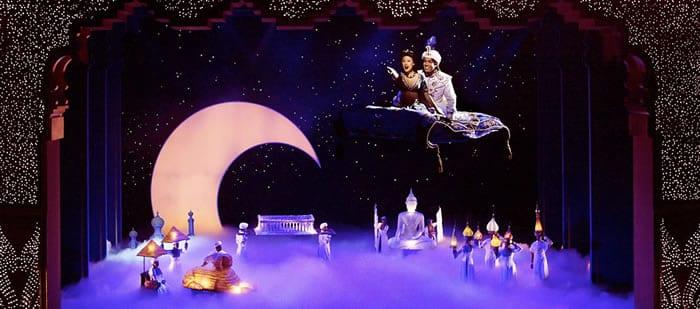 The Disney musical Aladdin (Photo: Deen van Meer)