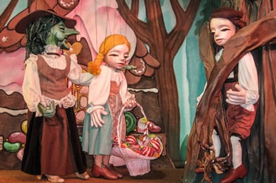 Hansel and Gretel (Photo courtesy of The Puppet Co)
