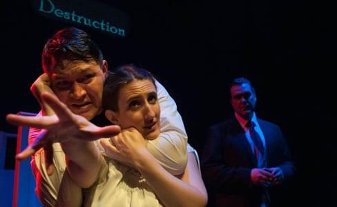 Brian McDermott, Elizabeth Darby and Alex Zavistovich (Photo: Kristin Jackman)