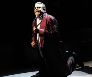 "Philip Quast as Judge Turpin performs ""Johanna."" (David Gordon)"