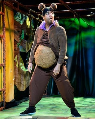 James Johnson as Baloo (Photo: Bruce Douglas)