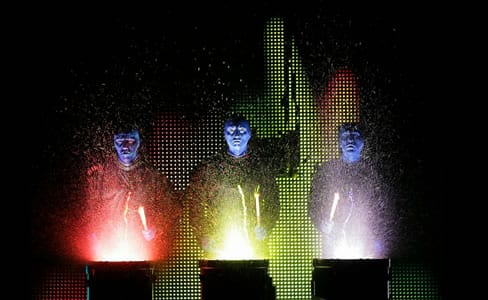 The Blue Man Group at National Theatre