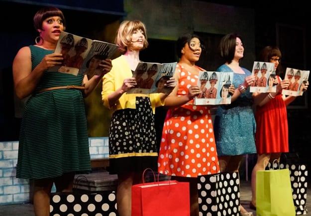 Iyona Blake, Aimee Barnes, Ashleigh King, Sarah Anne Sillers and Melissa Berkowitz (Photo: Gary Mester)