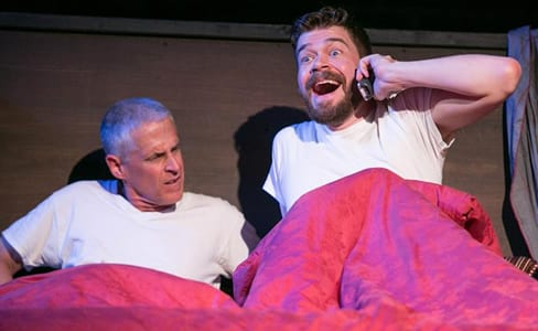 Timothy H. Lynch as Mr. Abramson and Kevin Hasser as Mark (Photo: C. Stanley Photography)
