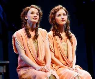 Emily Padgett as Daisy and Erin Davie as Violet (Photo: Joan Davie)