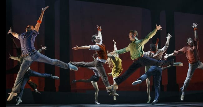 West Side Story Company (Photo: © Carol Rosegg 2012)