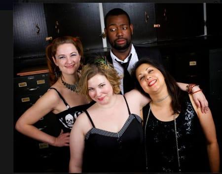 XXXs Allyson Harkey, Karen Lange, Anderson Wells and Toni Rae Salmi. Click for tickets