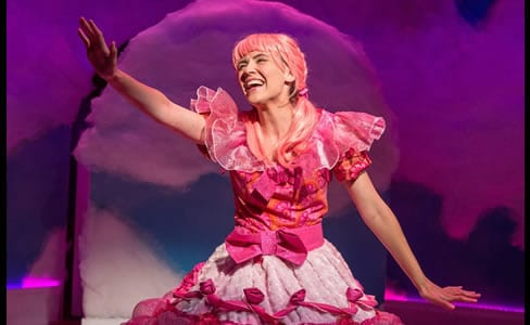 Carolyn Agan as Pinkalicious (Photo: Mike Horan)