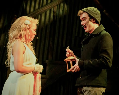 Angeleaza Anderson as Johanna and Robert Libby as Anthony (Brandon Penick Photography)