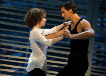Jillian Mueller (Baby) and Samuel Pergande (John ny) in the North American tour of Dirty Dancing - The Classic Story On Stage (Photo: Matthew Murphy)