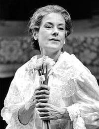 Tana Hicken as Amanda in Everyman Theatre, 2000 (Photo courtesy of Everyman Theatre)