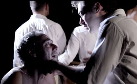 scene from the film Corpus Christi: Playing with Redemption