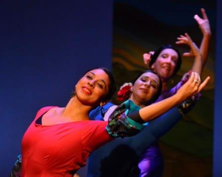 Sara Herrera Kopetchny, Alisa Bernstein, Laura Quiroga (Photo: Paul Wegner)
