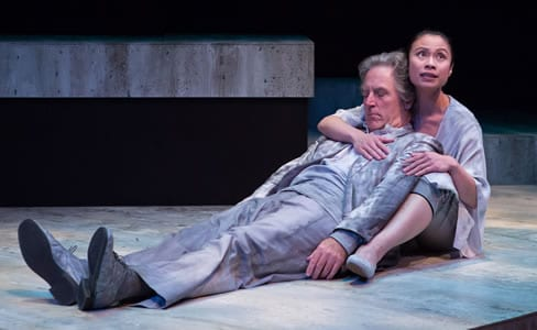 (l-r) Our War  (L to R) John Lescault and Tuyet Pham in Our War (Photo: Teresa Wood)