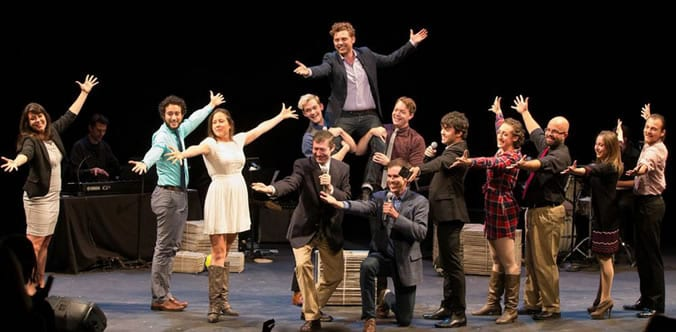 The cast of Charlie's Life as a Musical""
