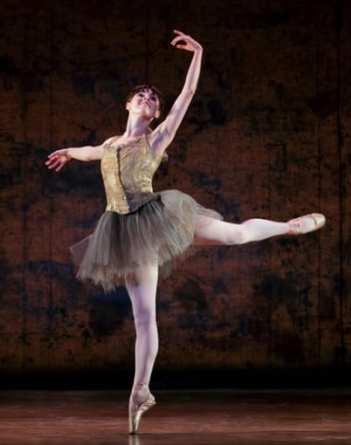 Tiler Peck in Little Dancer. (Photo: Paul Kolnik)