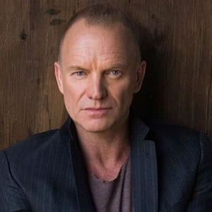 Sting, composer of The Last Ship