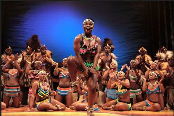 Tribal female dance, Africa Umoja