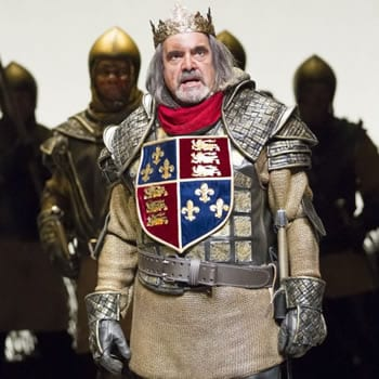 Edward Gero as King Henry IV in Shakespeare Theatre's 2014, Henry IV