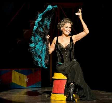 Lucie Arnaz as Berthe in Pippin, national tour (Photo: Terry Shapiro)