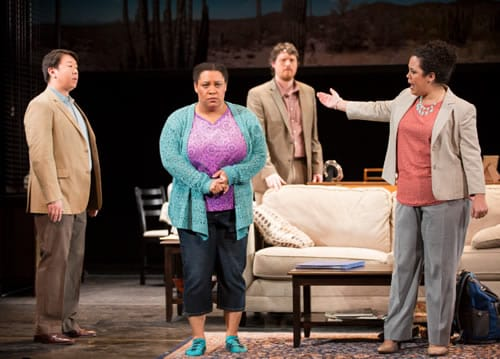 The cast of Penny (Photo: Scott Suchman)