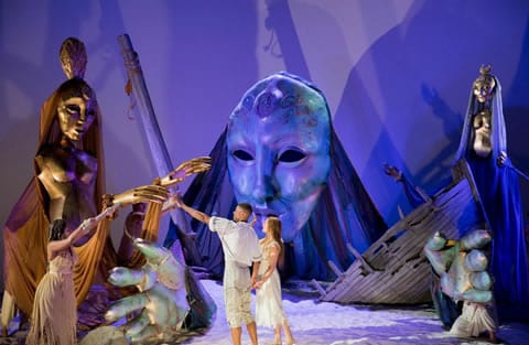 Puppet design, The Tempest (Photo: Scott Suchman)