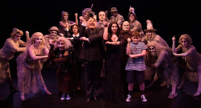 Cast of The Addams Family (Photo: Jeri Tidwell)