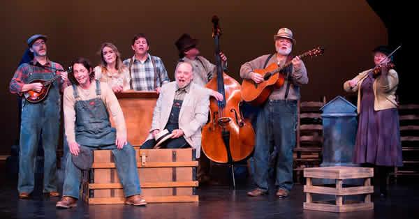The cast of Jack's Tale (Photo: Scott Suchman)