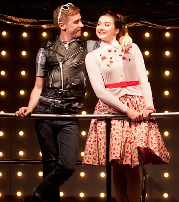 Scott Brown as Claudio and Emily Whitworth as Hero. (Photo: Koko Lanham)