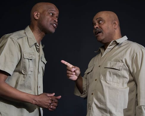 Michael Anthony Williams and Doug Brown, The Island by Athol Fugard, MetroStage