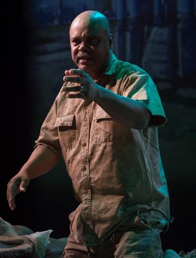 Doug Brown as Winston in The Island (Photo: Chris Banks)