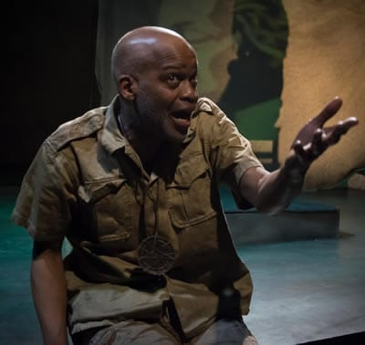 Michael Anthony Williams as John in The Island (Photo: Chris Banks)