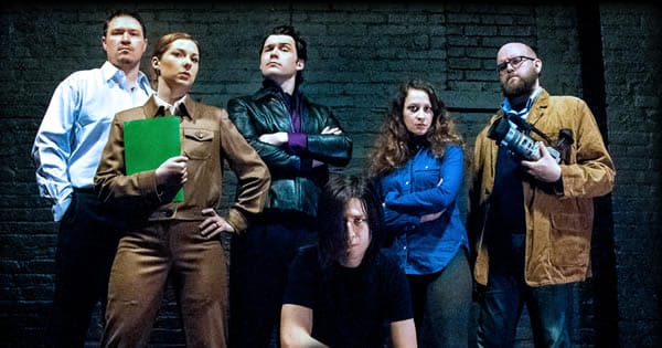 The cast of The Margins (Photo courtesy of Molotov Theatre Group