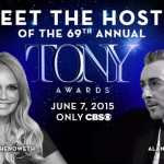 Just announced:  Nominations for American Theatre Wing's 2015 Tony Awards