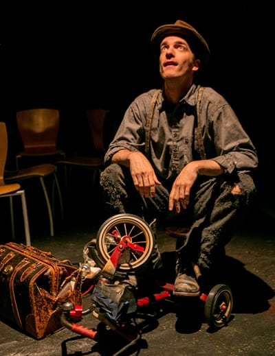 Rob Jansen in The Tramps New World (Photo: C. Stanley Photography)