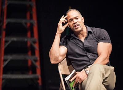 Keith Hamilton Cobb in American Moor at Anacostia Playhouse (Photo: C. Stanley Photography)