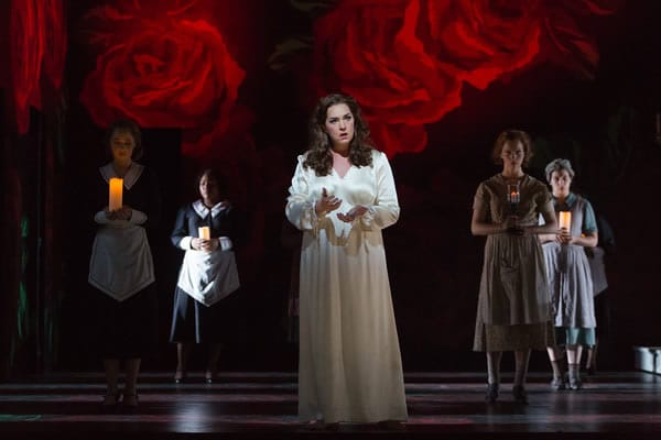 Melody Moore as Lady Macbeth in The Glimmerglass Festival's 2015 production of Macbeth. (Photo: Karli Cadel)