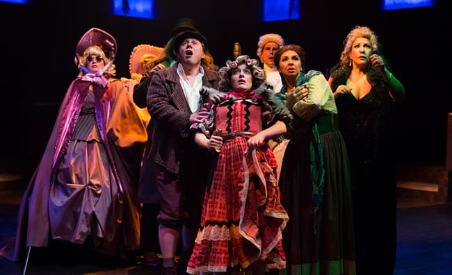 The ensemble of Into the Woods (Photo: Jeri Tidwell)