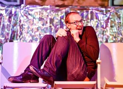 Joseph Pleuss as Don Alphonso in DC Public Opera's Cosi fan Tutte (Photo: Jen Knutzen)
