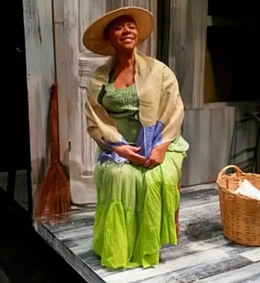 Judy Leak in A Matter of Worth (Photo courtesy of Live Garra Theatre)
