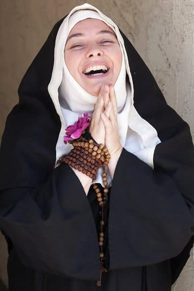 Coco Blignaut as Saint Teresa in God's Gypsy