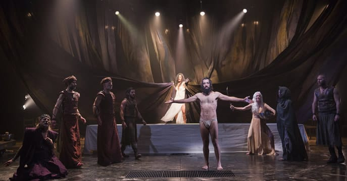 The cast of Yaël Farber's Salomé at the Shakespeare Theatre Company. (Photo: Scott Suchman)