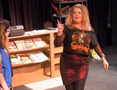 Kristen Jepperson as Trish Tinkler (Photo courtesy of Unexpected Stage)