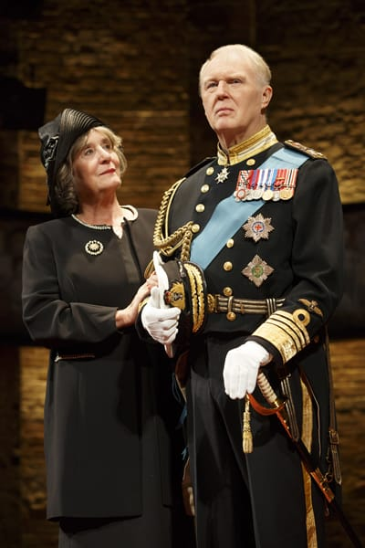 Margot Leicester & Tim Pigott-Smith in King Charles III (Photo: Joan Marcus)