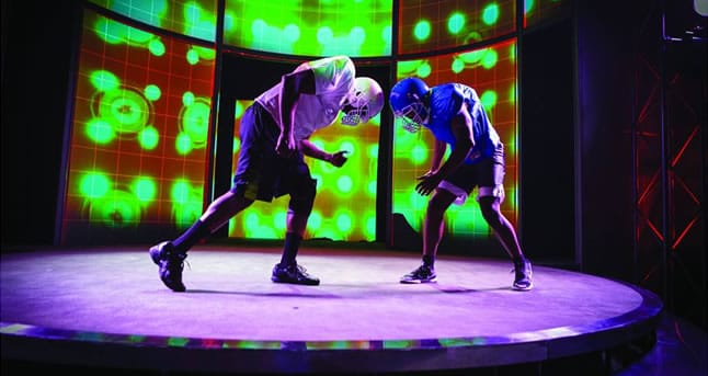 Anthony Holiday and Eddie Ray Jackson in X'z and O's at Center Stage (Photo: Richard Anderson)