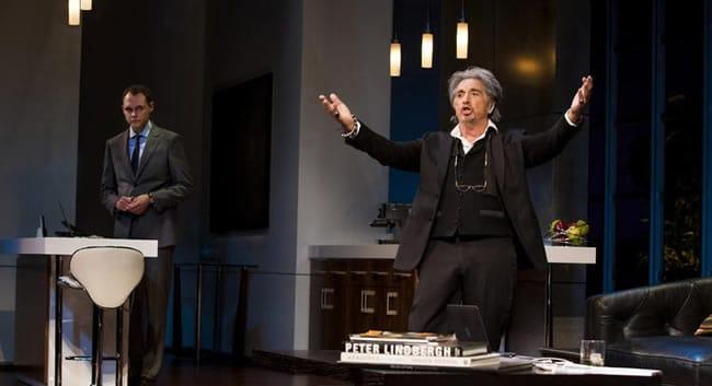"(l-r) Christopher Denham and Al Pacino in ""China Doll,"" (Photo: Jeremy Daniel )"
